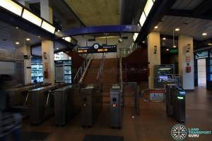 Fajar LRT Station - Turnstiles