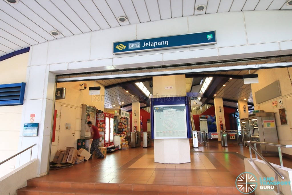 Jelapang LRT Station - Entrance & Exit
