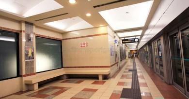 Ten Mile Junction LRT Station - Platform and waiting area