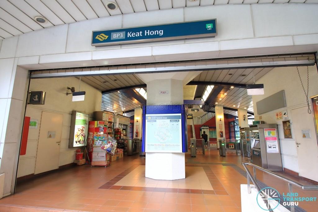 Keat Hong LRT Station - Entrance & Exit