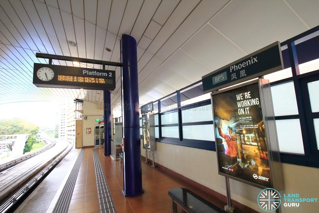Phoenix LRT Station - Platform 2