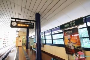 Petir LRT Station - Platform 2