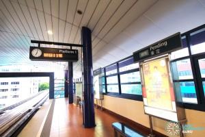 Pending LRT Station - Platform 1