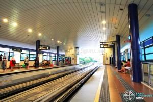 Pending LRT Station - Platform level