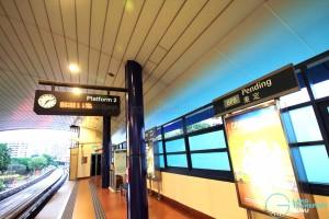 Pending LRT Station - Platform 2
