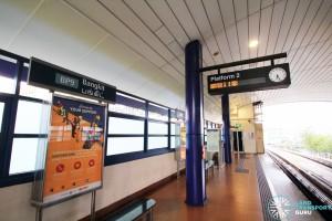 Bangkit LRT Station - Platform 2