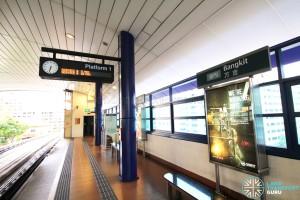 Bangkit LRT Station - Platform 1