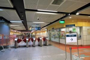 MacPherson MRT Station - Passenger Service Centre & Faregates (near Exit A)