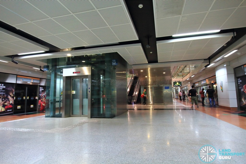 Tai Seng MRT Station - Platform level