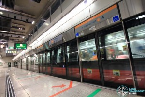Bartley MRT Station - Platform A