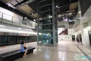 Bartley MRT Station - Platform level