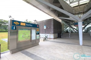Bartley MRT Station - Exit A