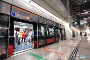 Bartley MRT Station - Platform B