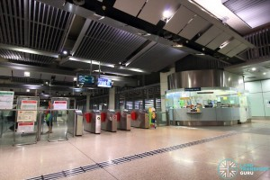 Bartley MRT Station - Passenger Service Centre & East Faregates