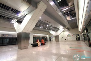 Bartley MRT Station - Platform level