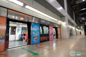 Serangoon MRT Station - CCL Platform A