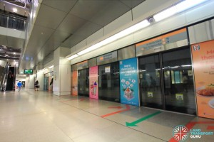 Serangoon MRT Station - CCL Platform B