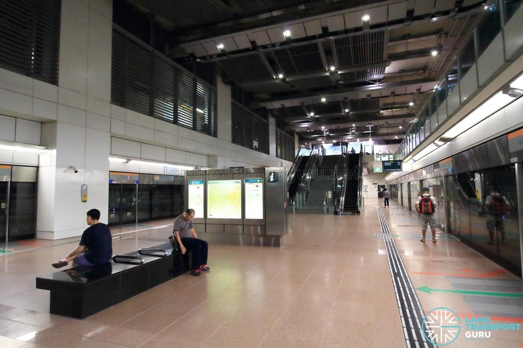 Lorong Chuan MRT Station - Platform level