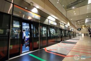 Bishan MRT Station - CCL Platform B