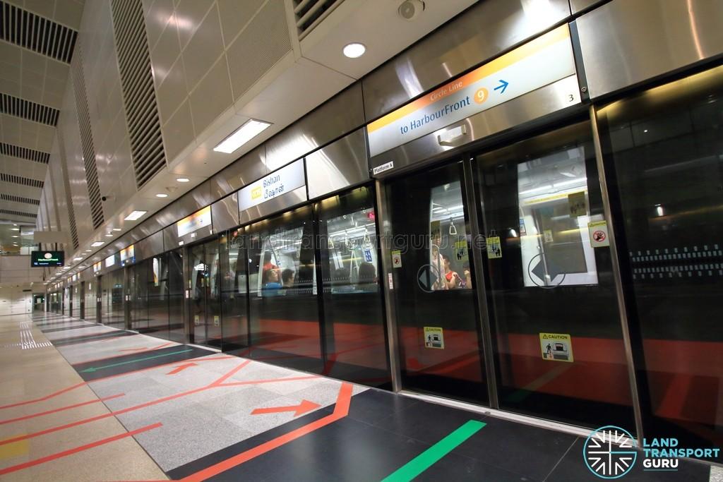 Bishan MRT Station - CCL Platform A