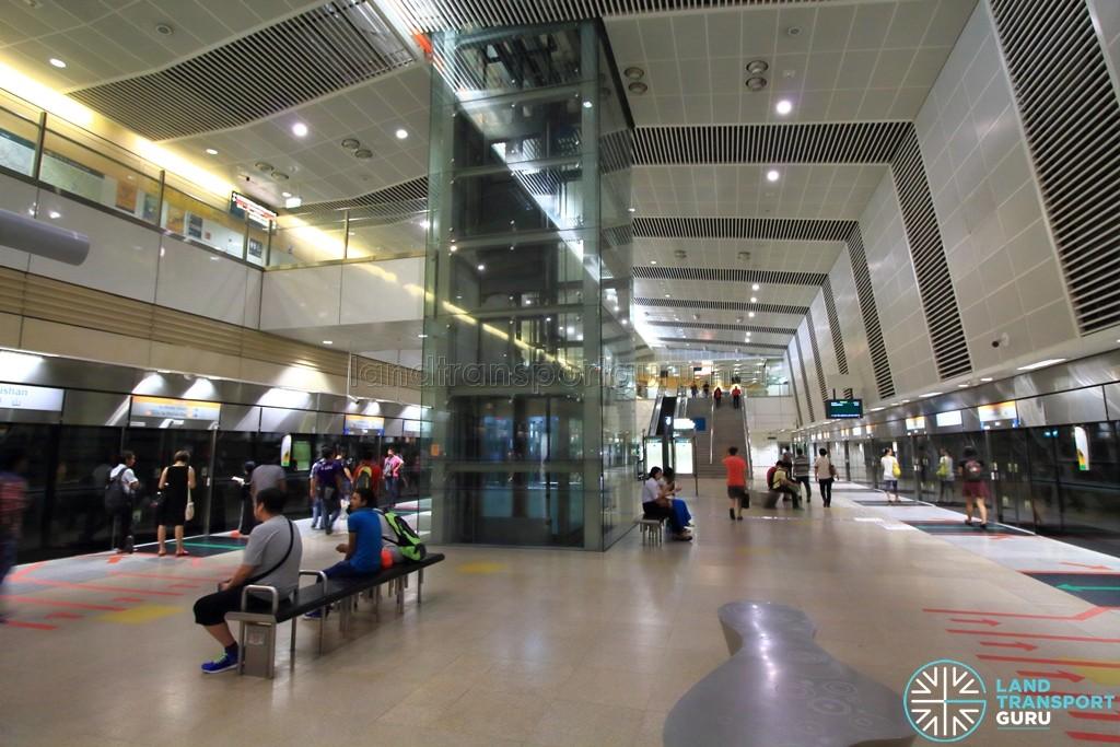 Bishan MRT Station - CCL Platform level