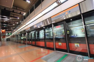 Marymount MRT Station - Platform A