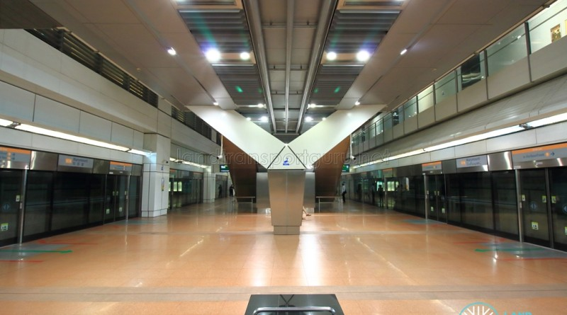 Marymount MRT Station - Platform level