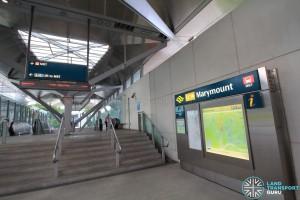 Marymount MRT Station - Exit A
