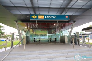 Caldecott MRT Station - Exit B