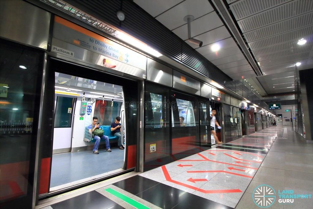 Caldecott MRT Station - Platform B