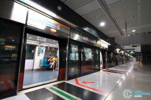 Farrer Road MRT Station - Platform B
