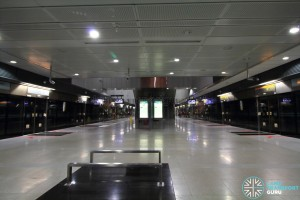 Farrer Road MRT Station - Platform level