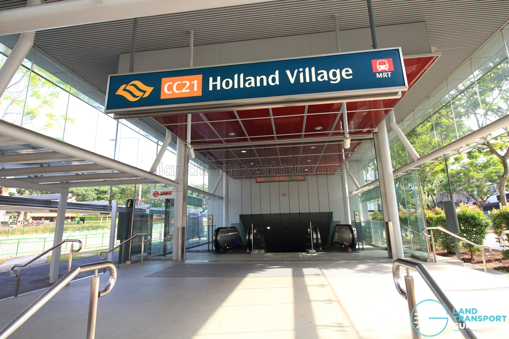 Holland Village MRT Station - Platform A