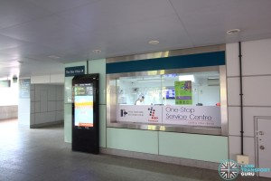 Buona Vista MRT Station - TransitLink Service Centre at L1
