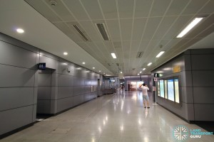 one-north MRT Station - Concourse level