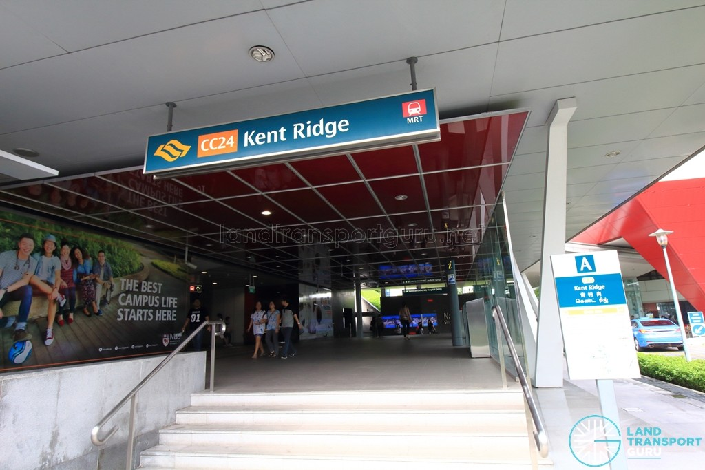 Haw Par Villa MRT Station - Exit A