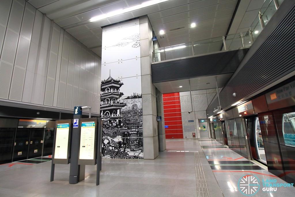 Haw Par Villa MRT Station - Platform level