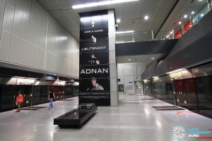 Pasir Panjang MRT Station - Platform level