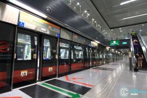 Pasir Panjang MRT Station - Platform A