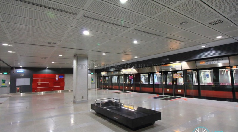 Labrador Park MRT Station - Platform level