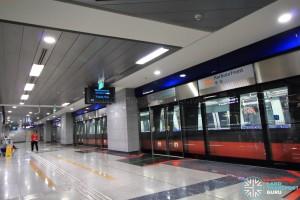 HarbourFront MRT Station - CCL Platform A