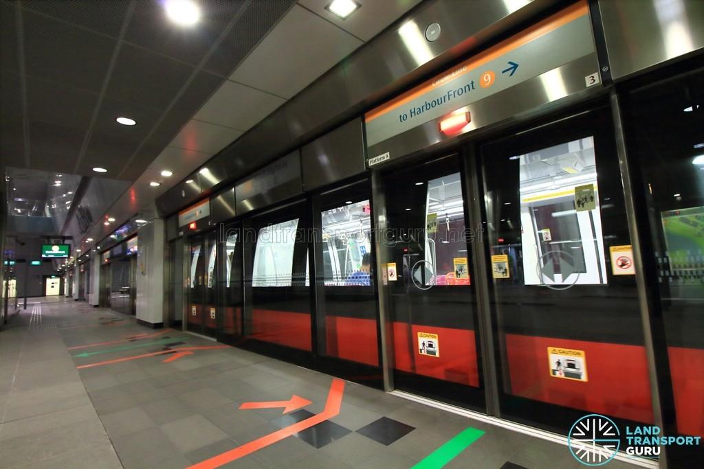 Nicoll Highway MRT Station - Platform A