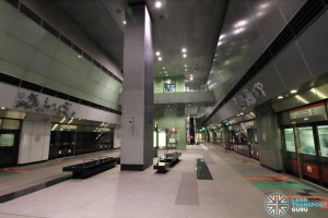 Nicoll Highway MRT Station - Platform level