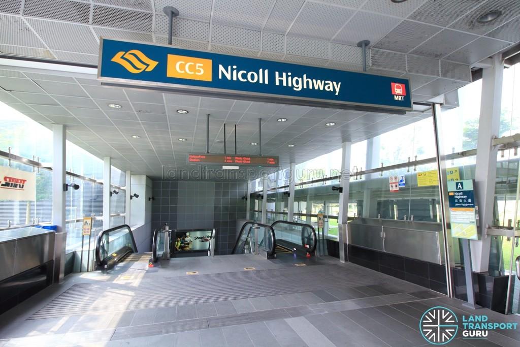 Nicoll Highway: Station entrance