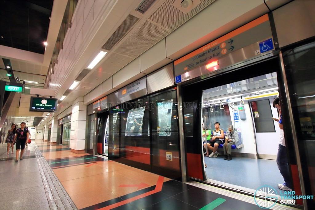 MacPherson MRT Station - Platform B