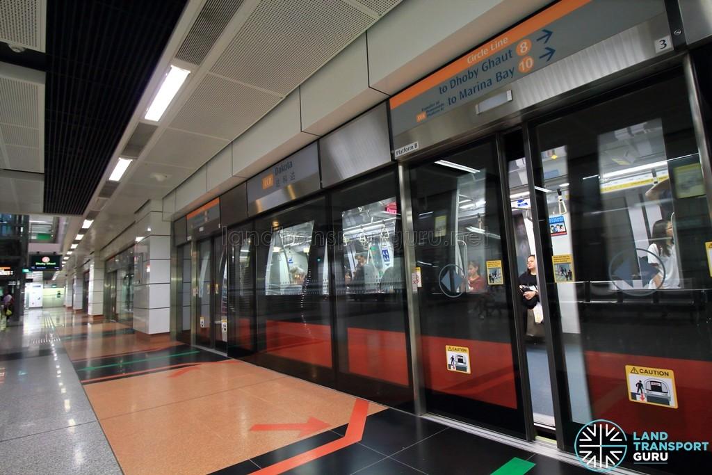 Dakota MRT Station - Platform B