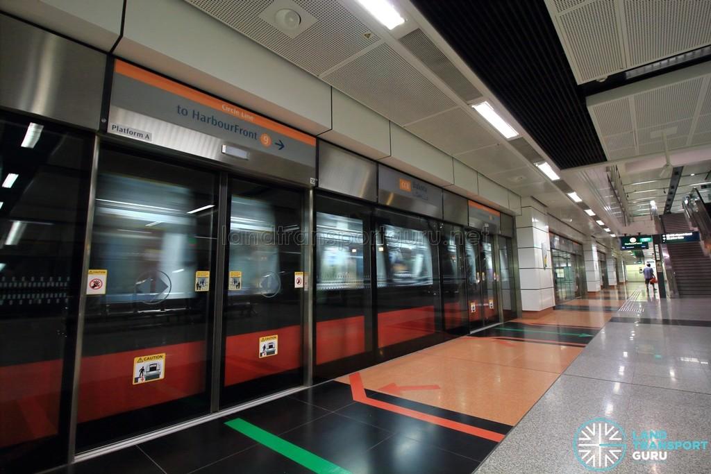 Dakota MRT Station - Platform A