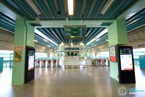 Buona Vista MRT Station - EWL Passenger Service Centre & Faregates (L3)