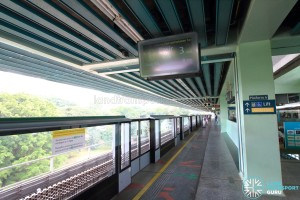 Buona Vista MRT Station - EWL Platform A