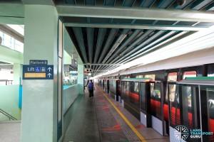 Buona Vista MRT Station - EWL Platform B